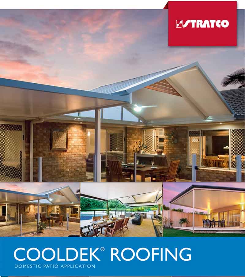 Domestic Patio Application Cooldek Roofing