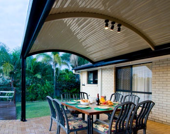 Outback Curved Roof Perfect Patios